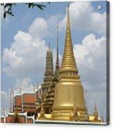 Buddhist Chedi - Bangkok Acrylic Print