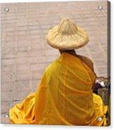 Buddhist Monk Acrylic Print