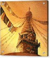 Buddhist Stupa- Nepal Acrylic Print