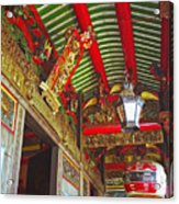 Nord Hoi Temple Ceiling Acrylic Print