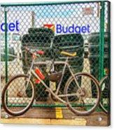 Budget Bicycle Acrylic Print