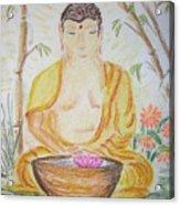Budha Acrylic Print