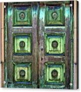 Buenos Aires Church Crypt Door Acrylic Print