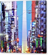 Buenos Aires Obelisk Acrylic Print