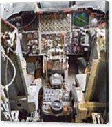 Buff Cockpit Acrylic Print