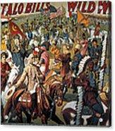Buffalo Bill: Poster, 1908 Acrylic Print
