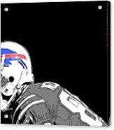 Buffalo Bills Football Team And Original Typography Acrylic Print
