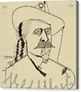 Buffalo Bill's Wild West - American History Acrylic Print