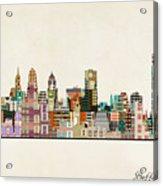 Buffalo City New York Acrylic Print