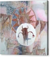 Buffalo Dancer Acrylic Print