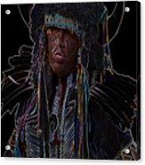 Buffalo Hunter Acrylic Print