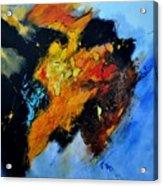 Buffalo-like Abstract  Acrylic Print
