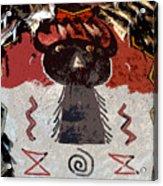 Buffalo Man Acrylic Print