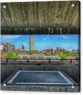 Buffalo New York Window Acrylic Print