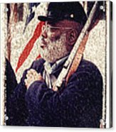 Buffalo Soldier Acrylic Print