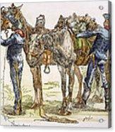 Buffalo Soldiers, 1886 Acrylic Print
