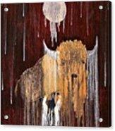 Buffalo Spirit Acrylic Print
