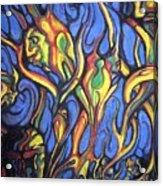 Buffalo Spirits Acrylic Print by John Benko