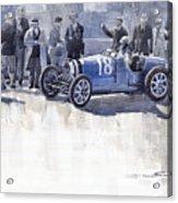 Bugatti 35c Monaco Gp 1930 Louis Chiron  Acrylic Print