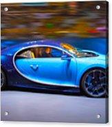 Bugatti Chiron 2 Acrylic Print