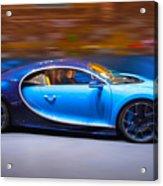 Bugatti Chiron 3 Acrylic Print