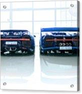 Bugatti Chiron And Vision Gt Acrylic Print