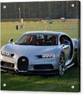 Bugatti Chiron Acrylic Print
