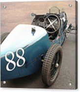 Bugatti Type 35 # 88 Acrylic Print