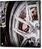 Bugatti Veyron Legend Wheel -0532ac Acrylic Print