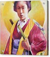Bugeisha One Acrylic Print