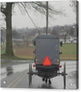 Buggy Ride After The Storm Acrylic Print