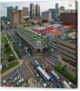 Bugis Village Junction In Singapore Entertainment District Acrylic Print