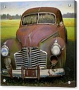 Buick Eight Acrylic Print by Doug Strickland