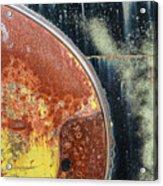 Buick Fender Abstract Acrylic Print