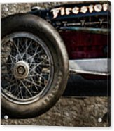 Buick Shafer 8 Acrylic Print by Peter Chilelli