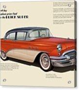 Buick Super Acrylic Print
