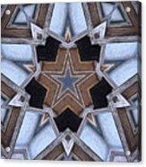 Building A Star Acrylic Print