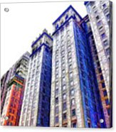 Building Closeup In Manhattan 15 Acrylic Print