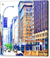 Building Closeup In Manhattan 18 Acrylic Print