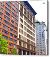 Building Closeup In Manhattan 5 Acrylic Print