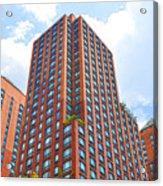 Building Closeup In Manhattan 6 Acrylic Print