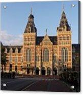 Building Exterior Of Rijksmuseum. Amsterdam. Holland Acrylic Print