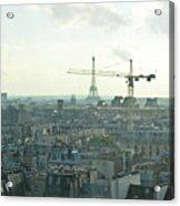 Building Paris Acrylic Print