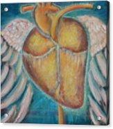 Building Wings Acrylic Print