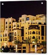 Dubai Architecture  Acrylic Print