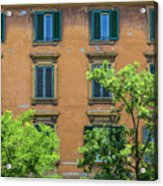 Buildings Opposite The Vatican Museum Acrylic Print