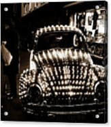 Bulbed Vw Acrylic Print by Darren Scicluna
