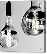 Bulbs - Black And White Acrylic Print