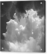 Buliding storm Acrylic Print
