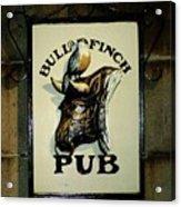 Bull And Finch Pub Acrylic Print